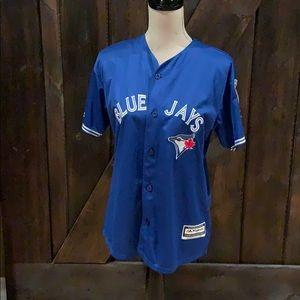Donaldson Blue Jays jersey top